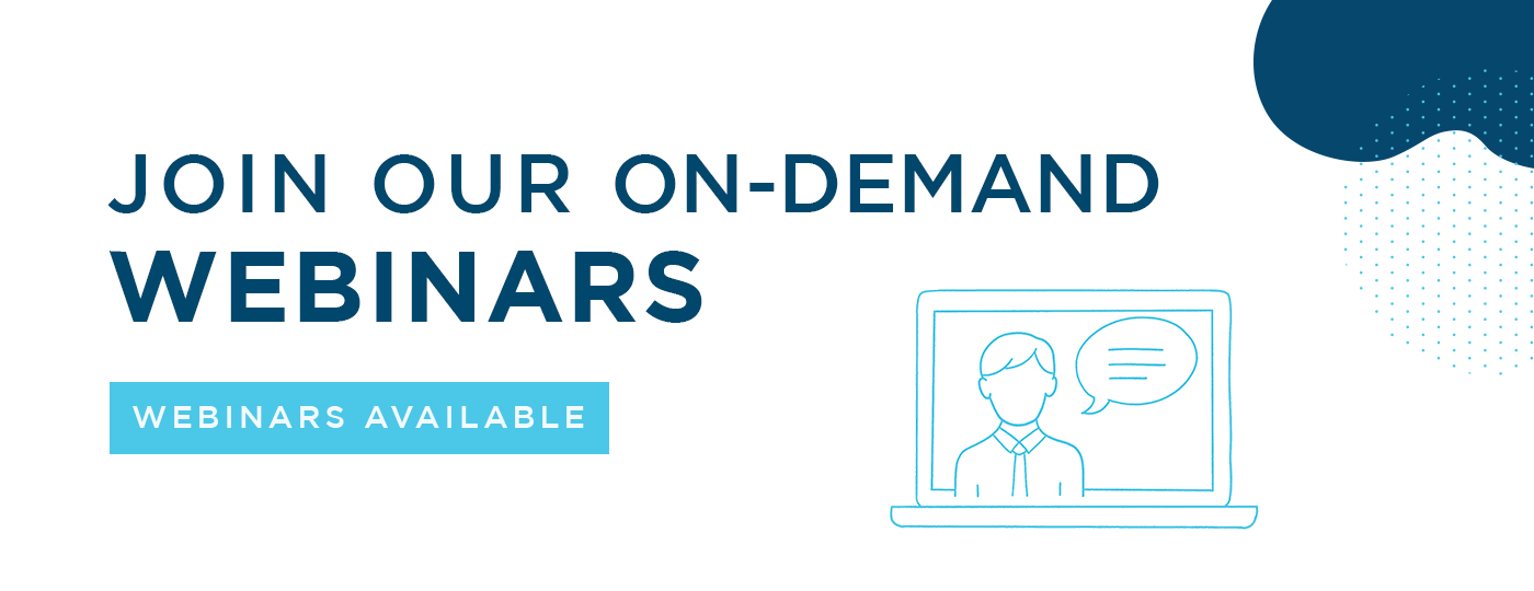 On-Demand Webinars Available